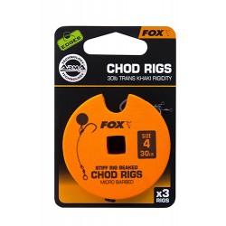 FOX EDGES 30 LBS CHOD RIGS...
