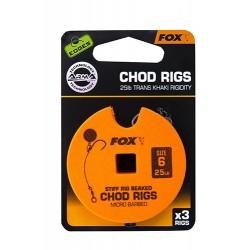 FOX EDGES 25 LBS CHOD RIGS...