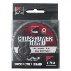 DAM CROSSPOWER 8 BRAID DARK...